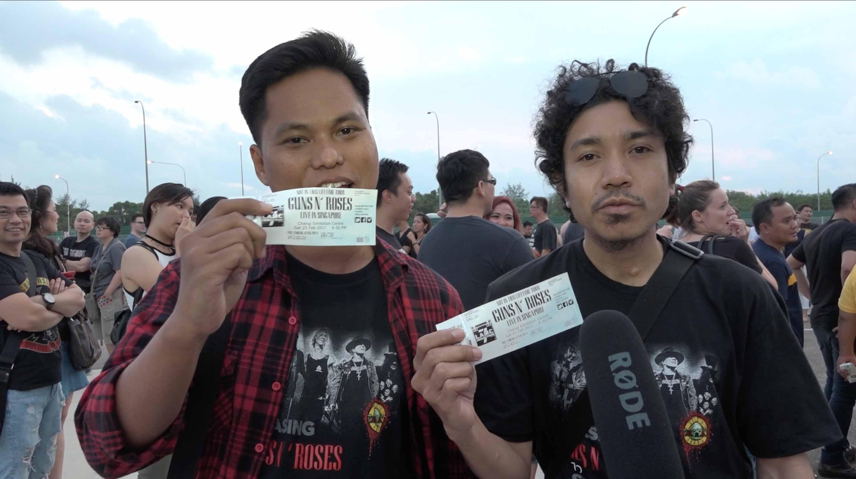 Keseruan Nonton Guns N' Roses di Singapura Bareng Uzone