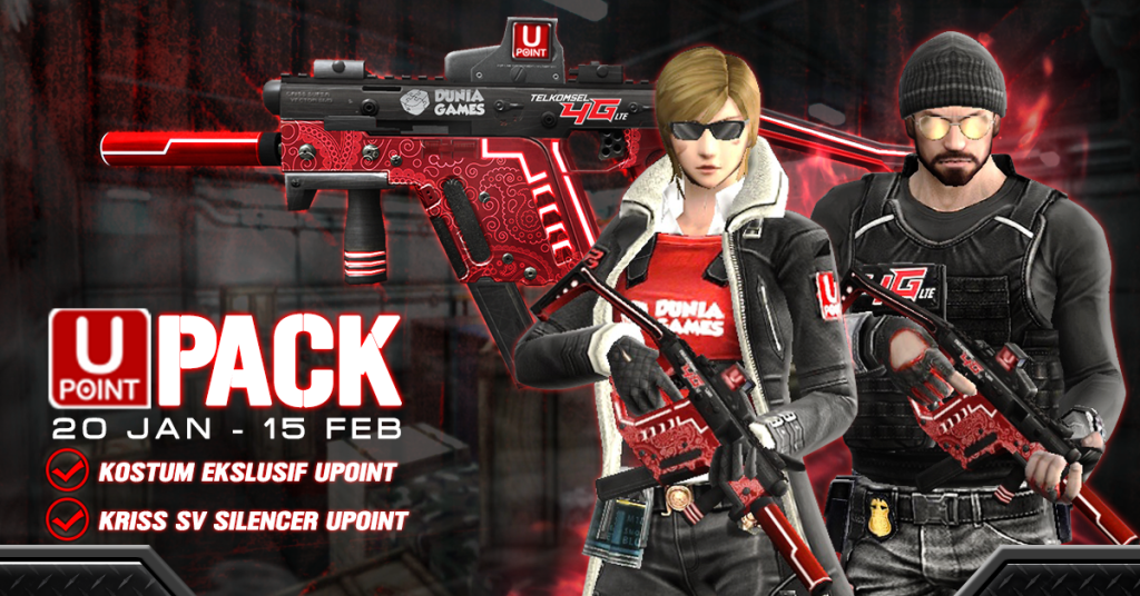 UPoint Pack, Paket Spesial Point Blank Mobile