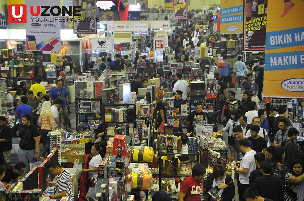 Galeri Foto Jakarta Toys and Comics Fair 2017