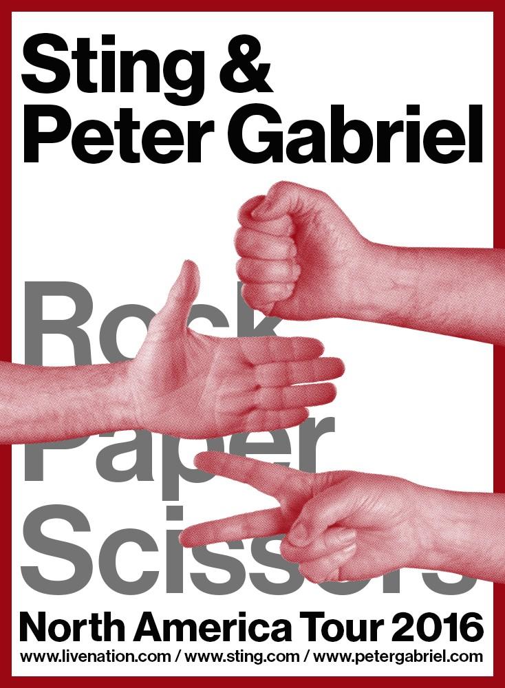 Tur Amerika Sting dan Peter Gabriel