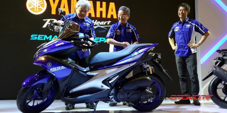 Sayembara Tebak Harga Yamaha Aerox 155