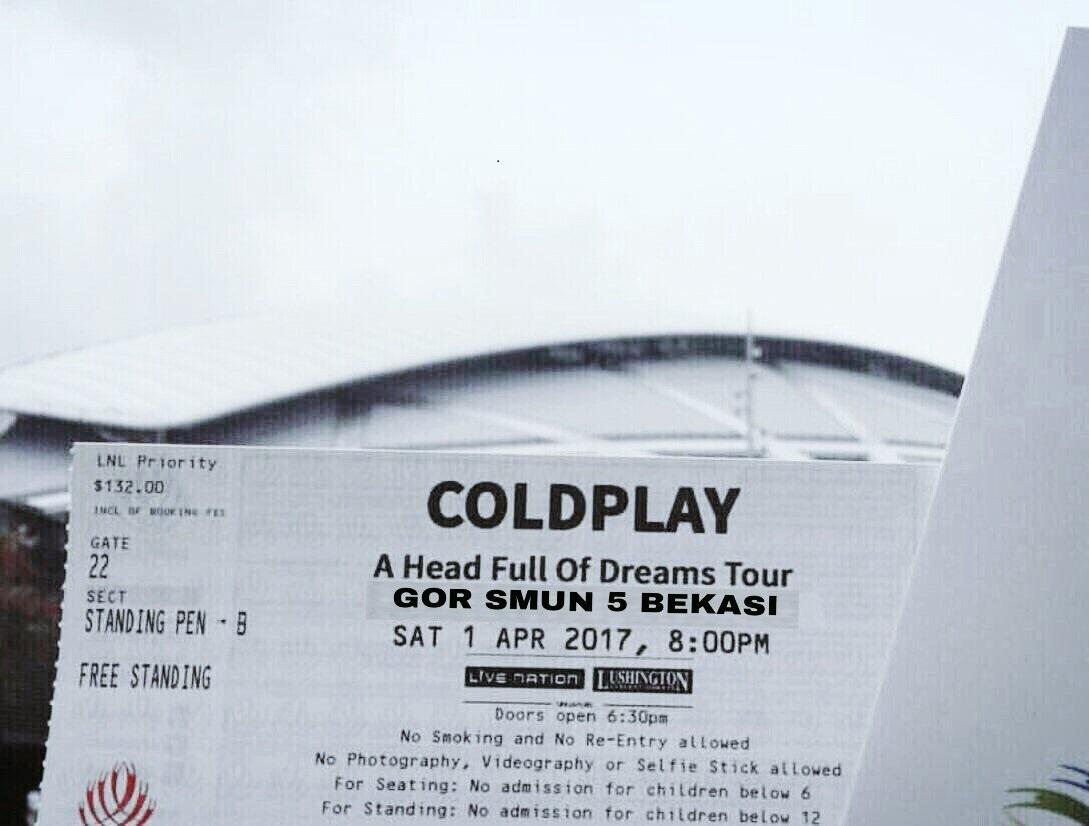 Meme Lucu Tiket Konser Coldplay