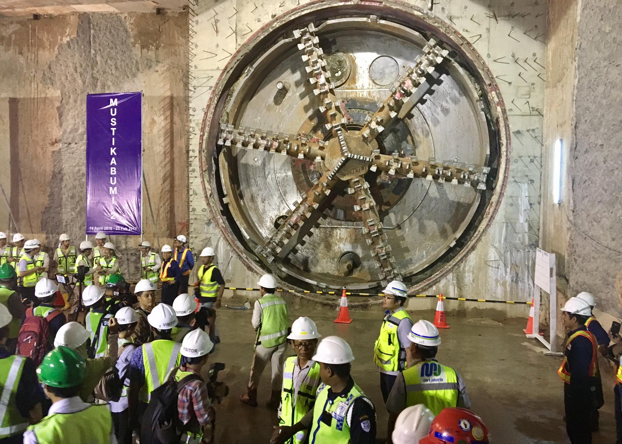 Proyek MRT Jakarta Fase 1 Rampung